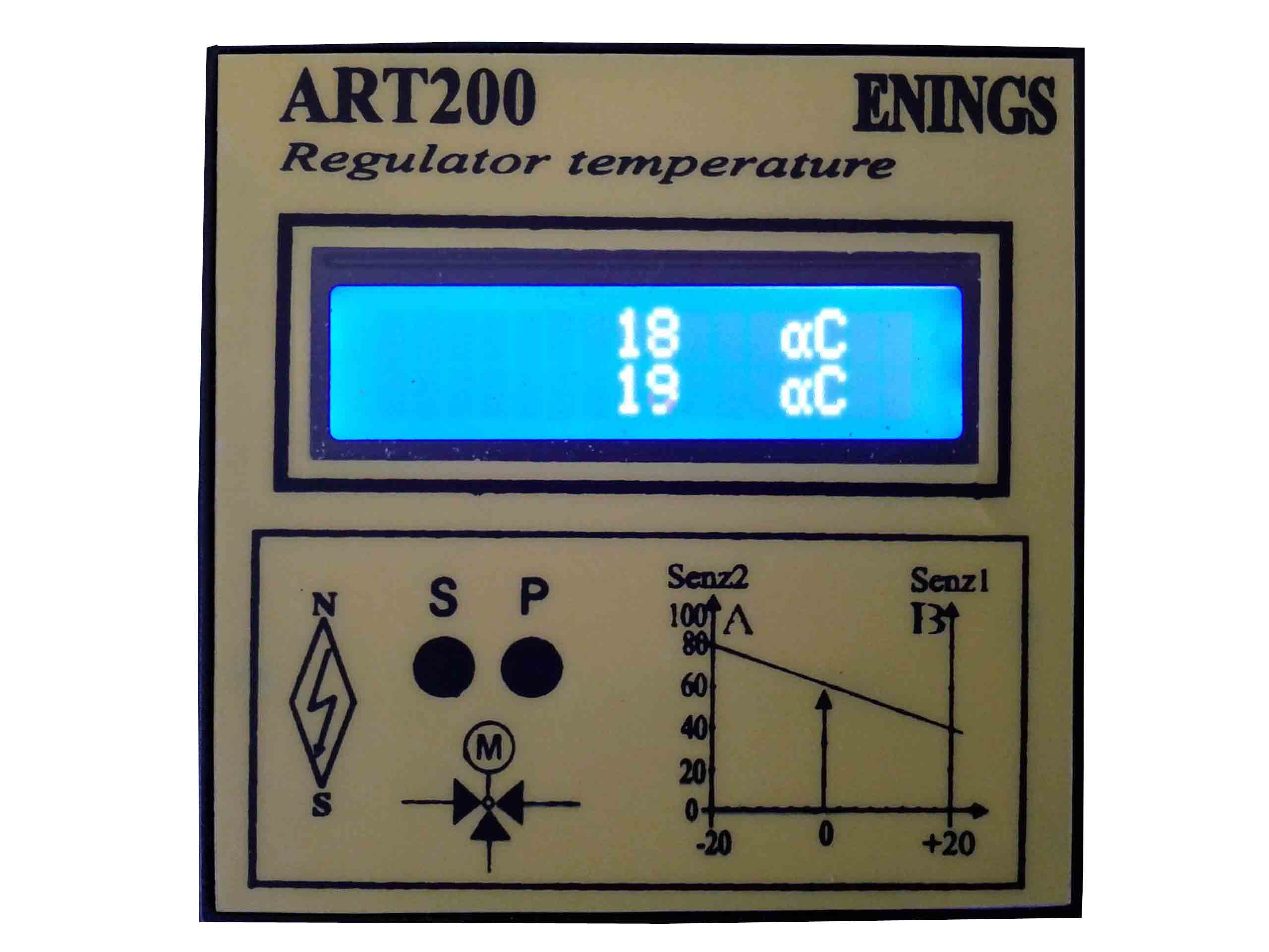 ART200 regulator elektromotornog ventila